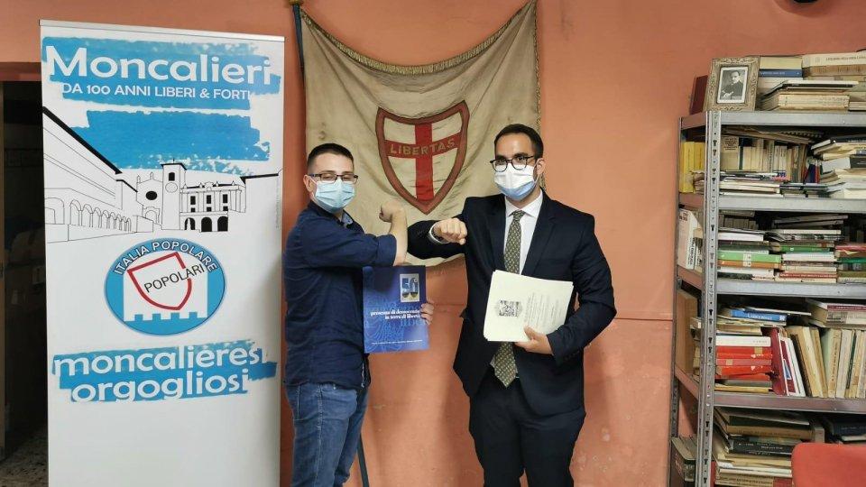 Lorenzo Bugli a Moncalieri per incontrare i Giovani Popolari