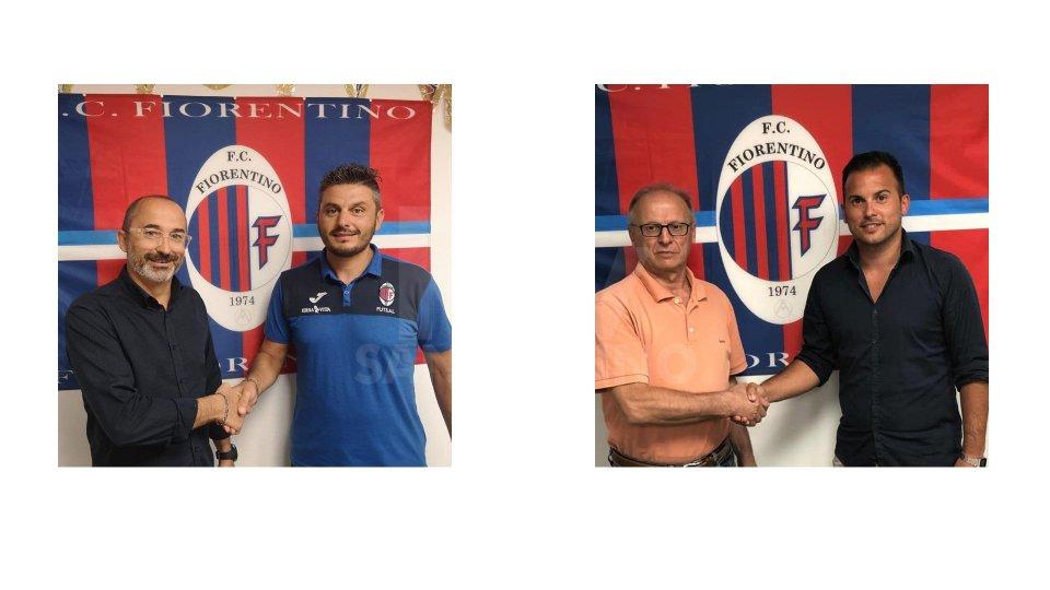 Fiorentino: Malandri e Fallini nuovi allenatori di calcio e futsal
