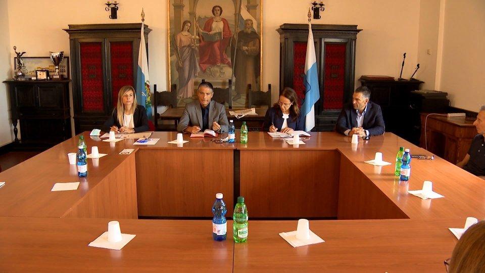 Giunta Serravalle: incontro con i Sindaci e Assessori alla Cultura e Turismo dei comuni di Coriano , San Leo, Verucchio e Carpegna