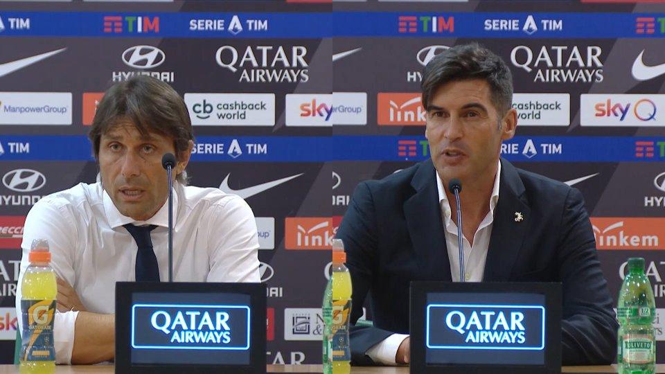 Sentiamo gli allenatori di Inter e Roma