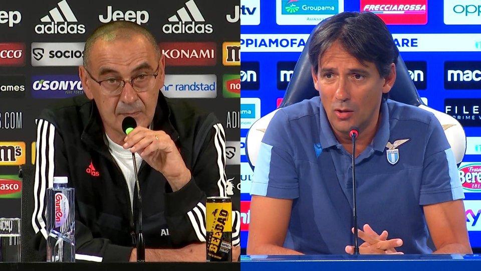 Interviste a Maurizio Sarri e Simone Inzaghi