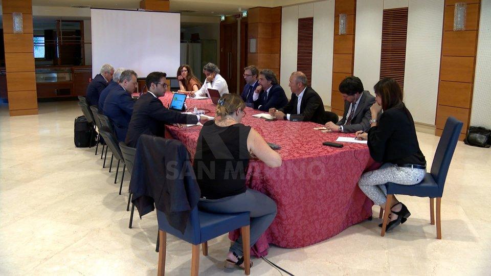 Nel pomeriggio l'incontro con rappresentanti di maggioranza e opposizione