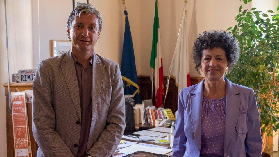 Il Sindaco di Rimini Andrea Gnassi ha incontrato e salutato il Prefetto Alessandra Camporota, che lascerà la direzione della Prefettura di Rimini, incarico che svolgeva dal luglio 2018