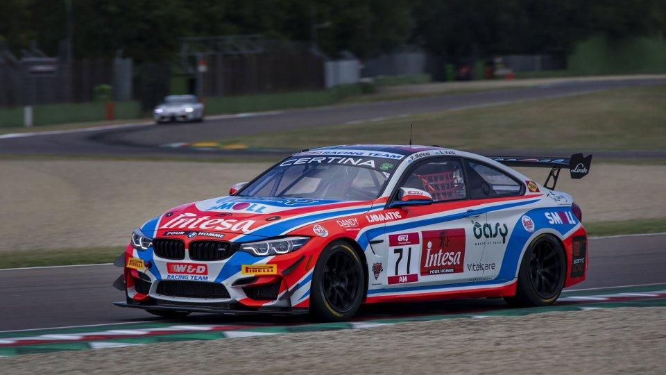 La BMW M4 del W&D Racing Team guidata da Stefano Valli e Paolo Meloni (credit: W&D)
