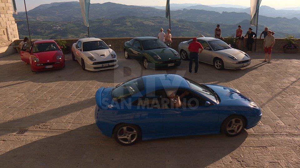 Le Fiat Coupè a San Marino