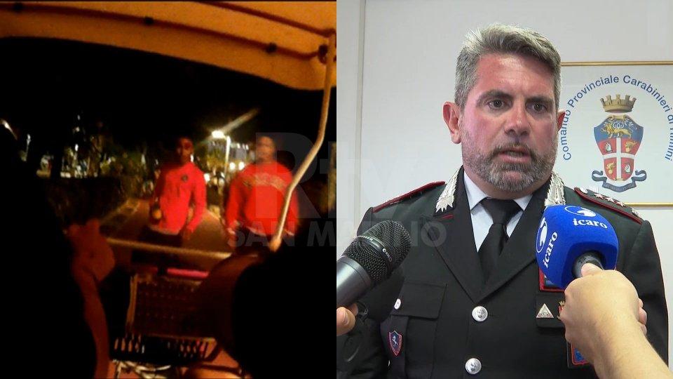 Nel servizio l'intervista al comandante dei Carabinieri di Riccione, Giuseppe Sportelli