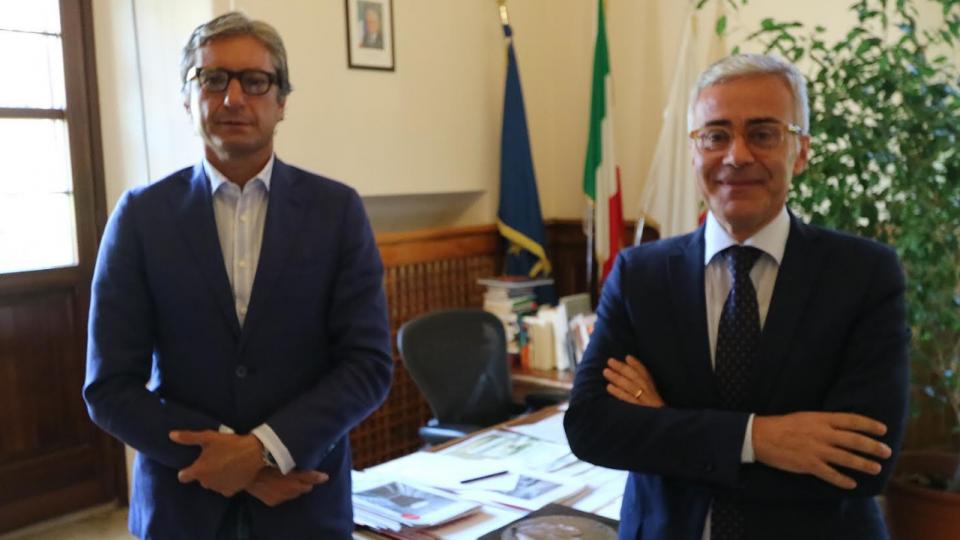 Rimini, il sindaco Gnassi incontra il nuovo prefetto