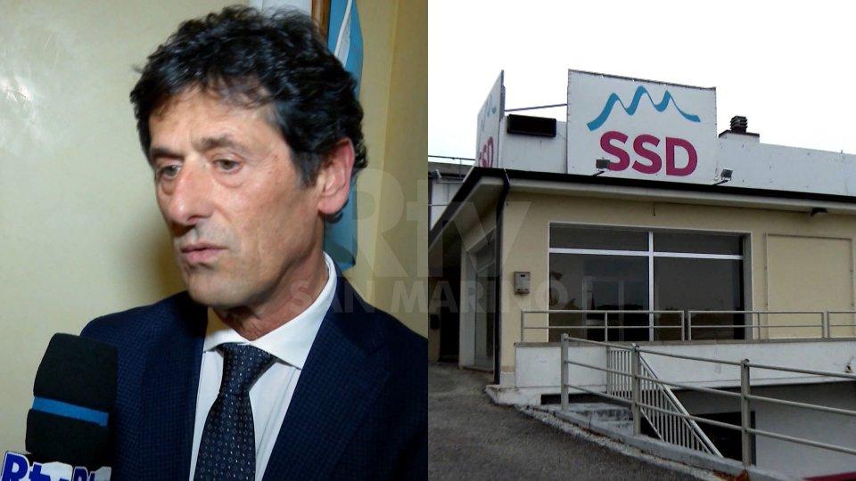Guerrino Zanotti e sede SSD
