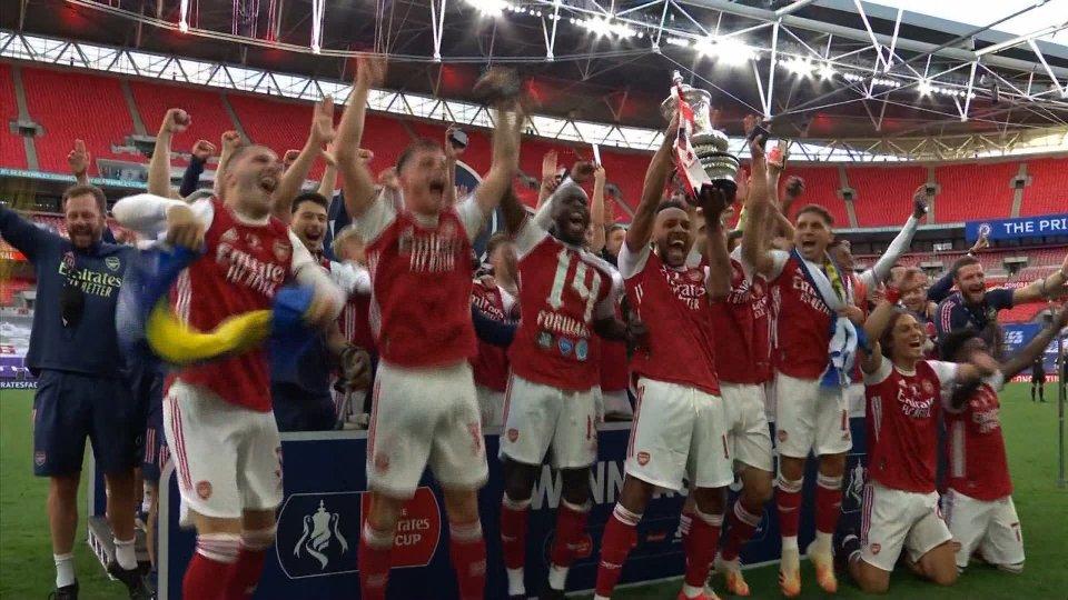 L' Arsenal ribalta il Chelsea e vince per la 14° volta la Coppa Inglese FA Cup