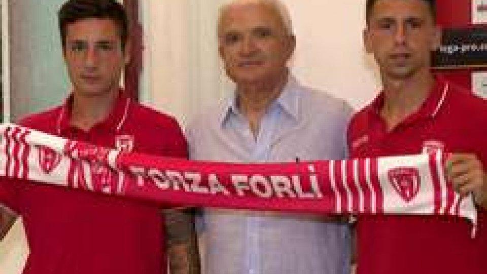 """Loris Vago e Gabriele BoiliniVago e Boilini: """"Pronti a dare una mano al Forli"""""""