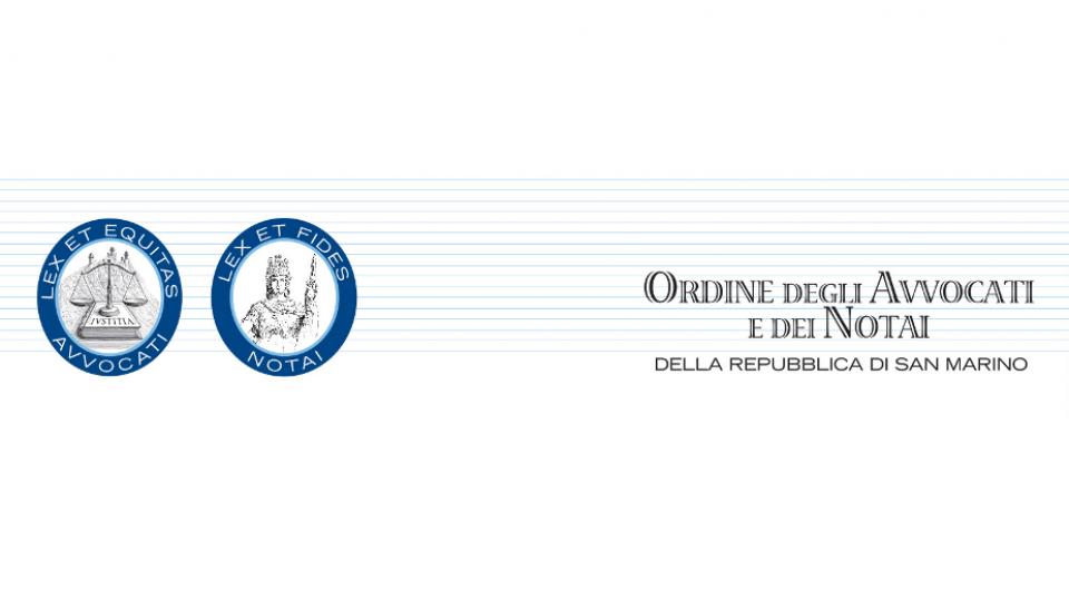 L'ordinde degli avvocati e notai della Repubblica di San Marino interviene sulla giustizia
