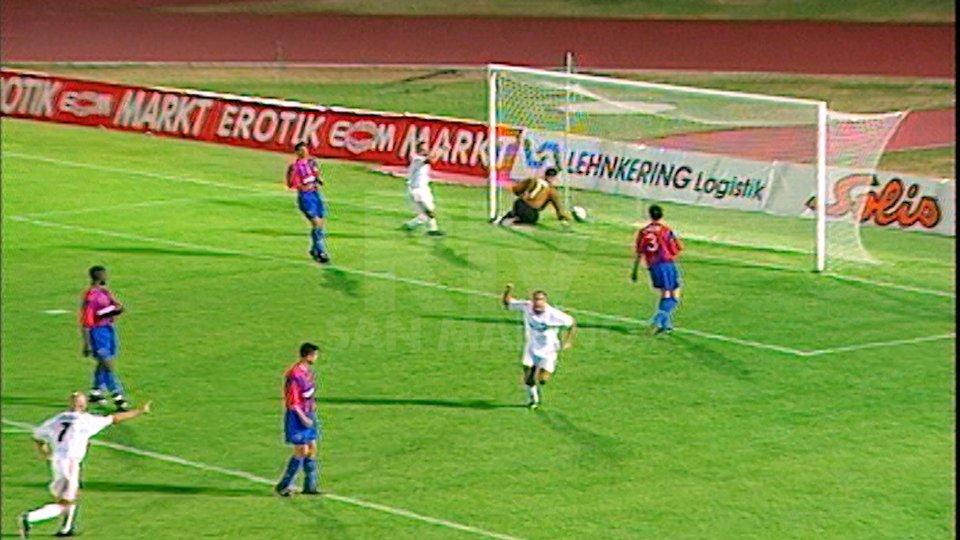 Il gol di Alessandro Zanotti