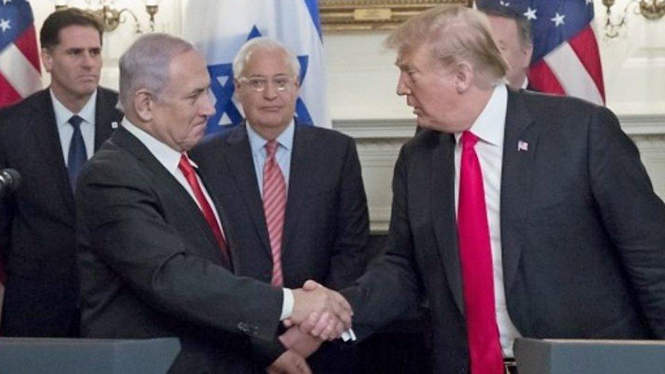 """""""Una giornata storica"""", Trump annuncia accordo fra Israele e Emirati Arabi Uniti"""