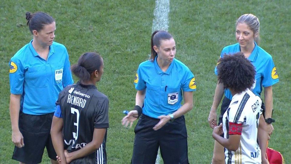 Femminile: l'Olympique Lione vince 3-0 con la Juventus