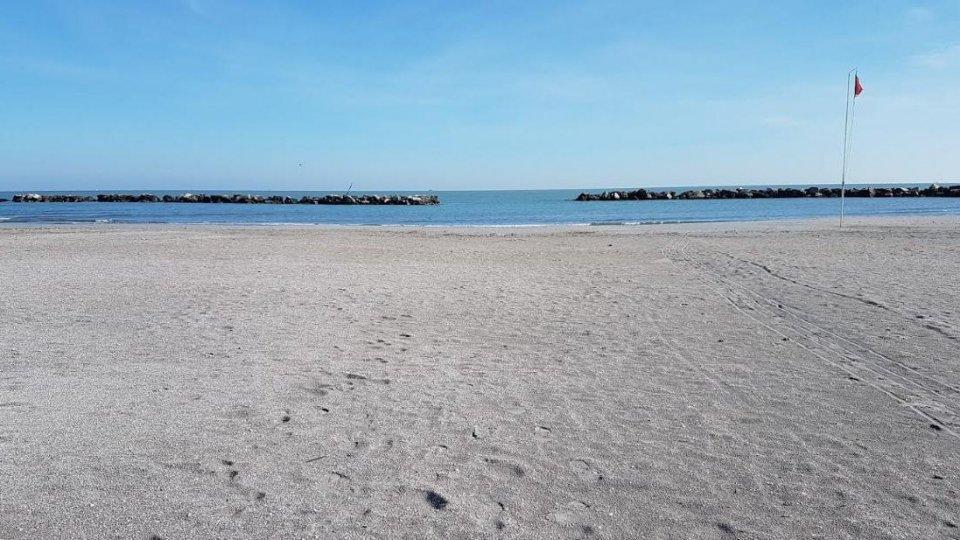 spiaggia libera di Torre Pedrera