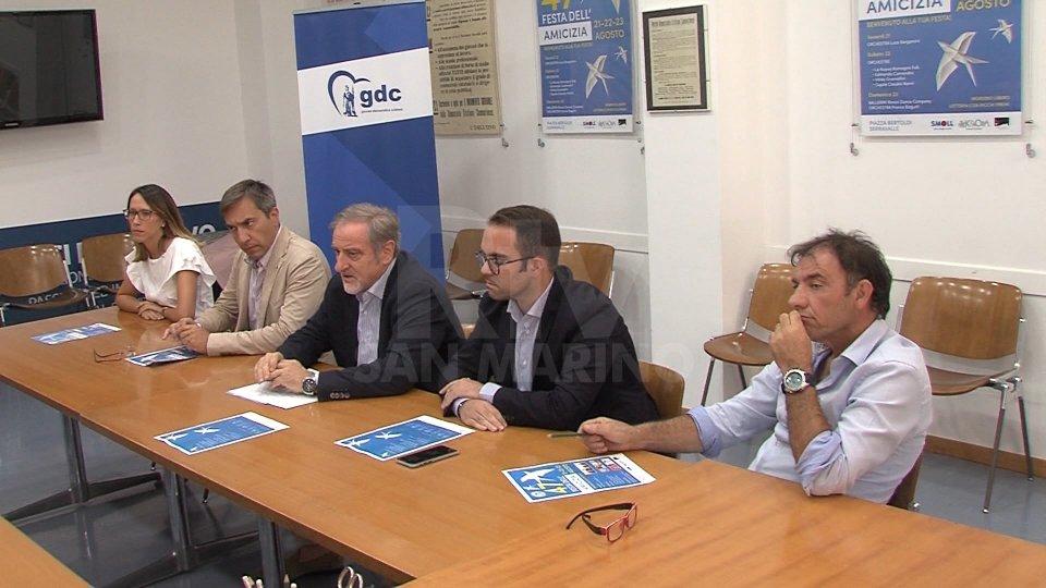La conferenza stampa del PDCS