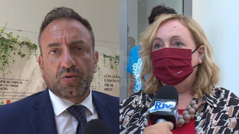 Nel video le interviste a Emanuela Del Re, vice ministra Esteri, e a Luca Beccari, Segretario di Stato agli Esteri