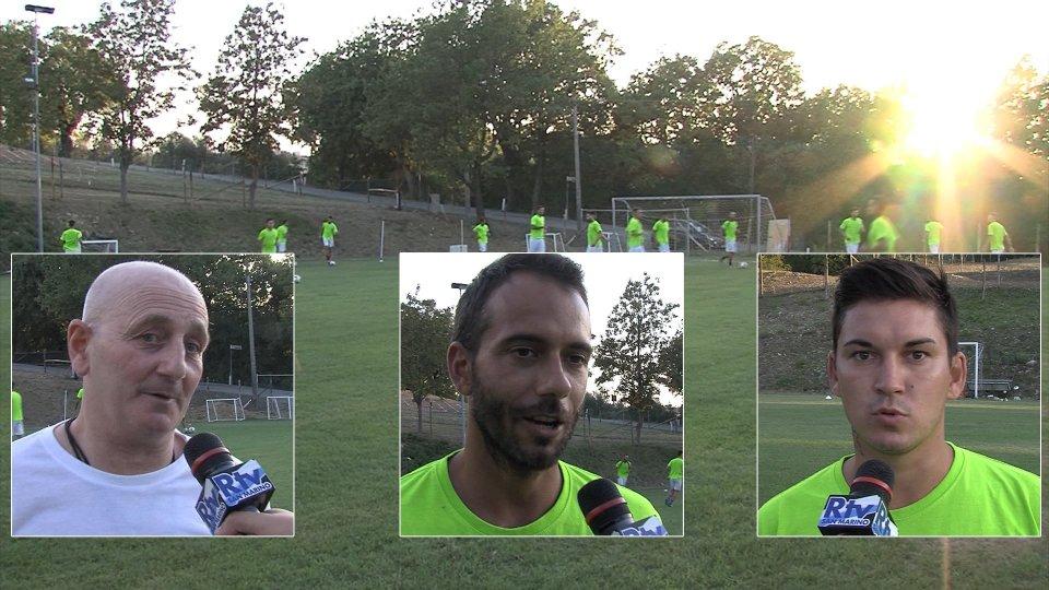 Nel servizio le interviste ad Antonio Bianchi (allenatore Cailungo), Enea Righetti (difensore Cailungo) e Alexander Tadzybayev (attaccante Cailungo)