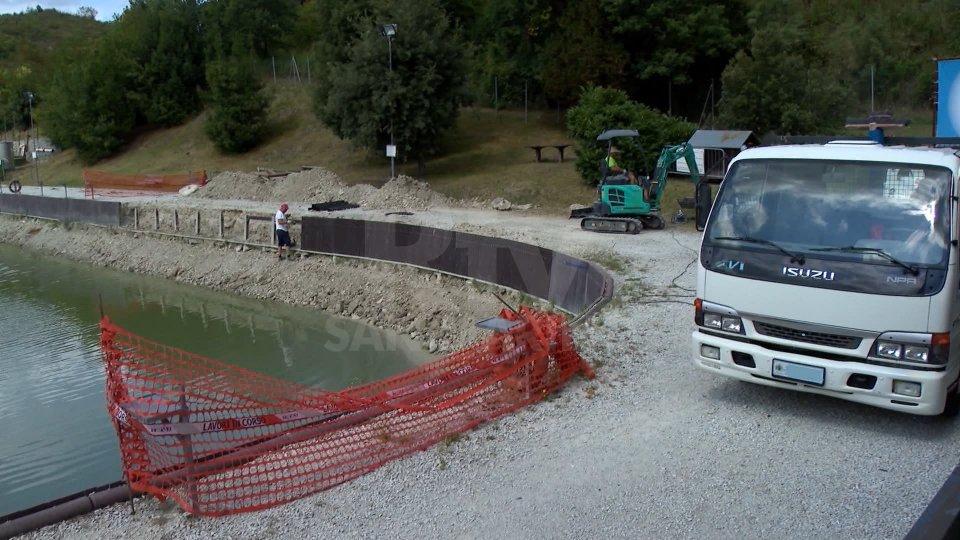 Cominciati i lavori al Lago di Faetano