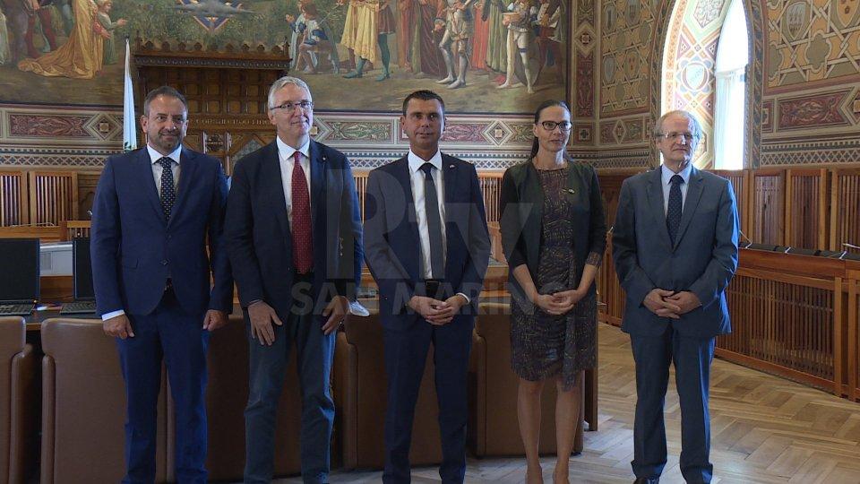 Nel video le interviste a Luca Ceriscioli, presidente Regione Marche, e a Luca Beccari, Segretario di Stato Affari Esteri