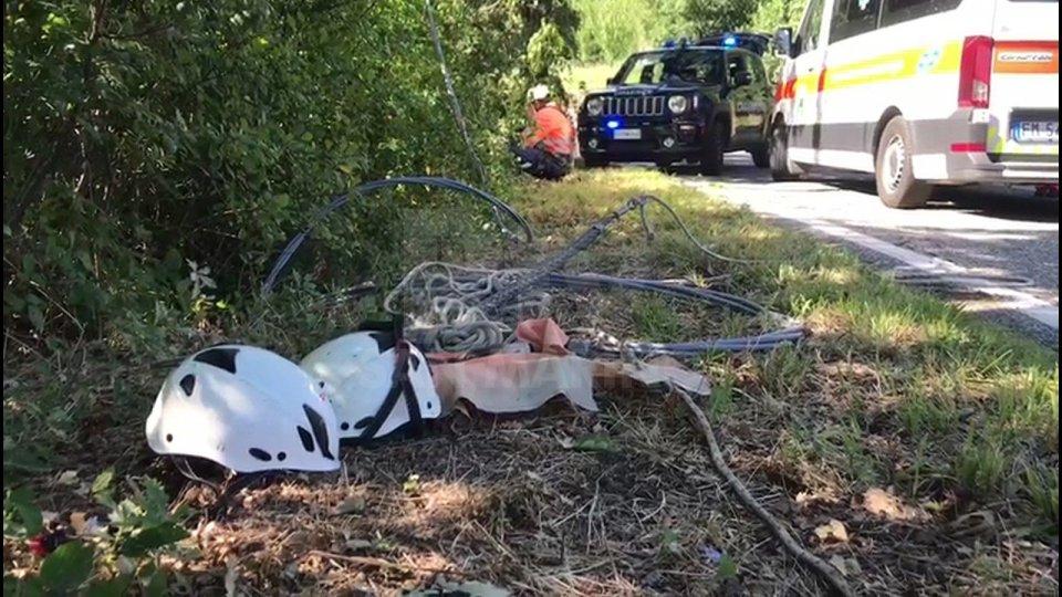 Foto dall'incidente