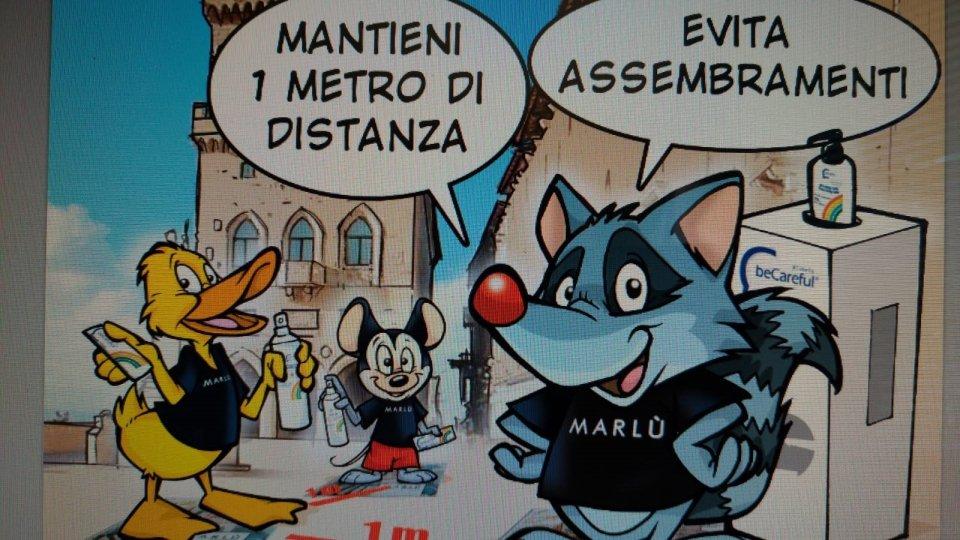 San Marino Comics e Marlù, Francesco Barbieri disegna TimeToBeCareful