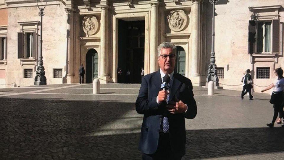 Mattarella conferisce a Sergio Barducci l'onorificenza di Cavaliere dell'Ordine della Stella d'Italia