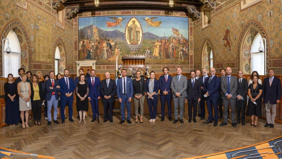 Ambasciatore Cerboni si congeda dalla Repubblica