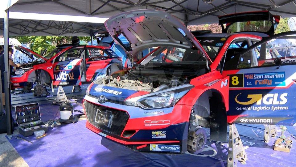 San Marino Rally: Scandola davanti a tutti nello shakedown di Piandavello