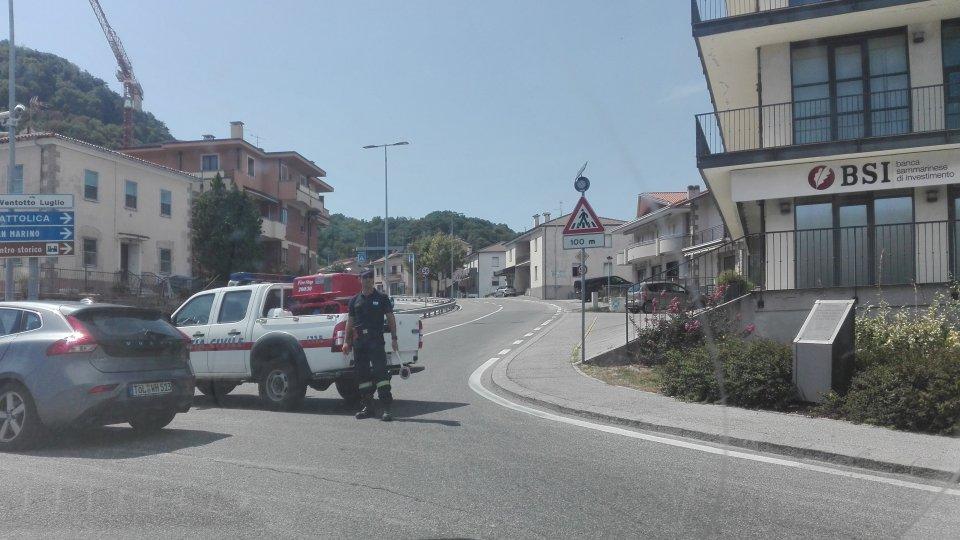 Maxi tamponamento a Borgo Maggiore: coinvolta anche auto Rsm