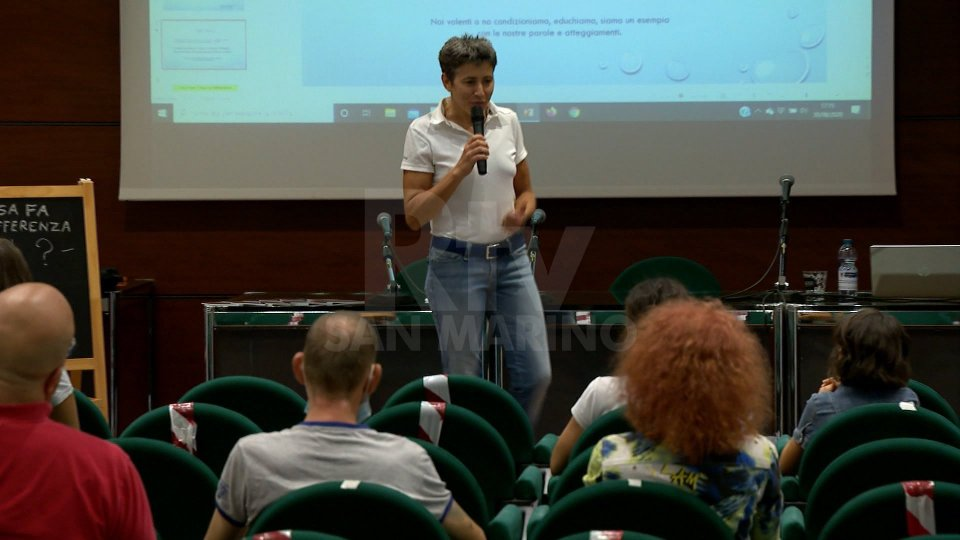 Domagnano: il metodo educativo del judo spiegato dall'insegnante Silvia Marocchi
