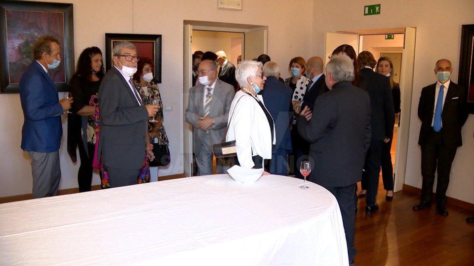 Ricevimento all'Ambasciata per il saluto di Guido Cerboni