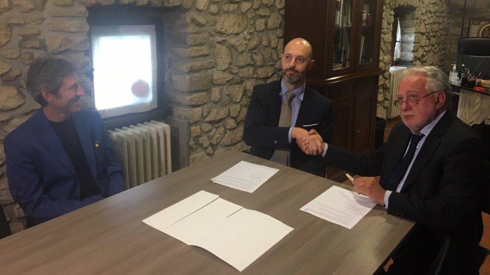 Firmato questa mattina un accordo di collaborazione fra Istituti Culturali e Università di San Marino