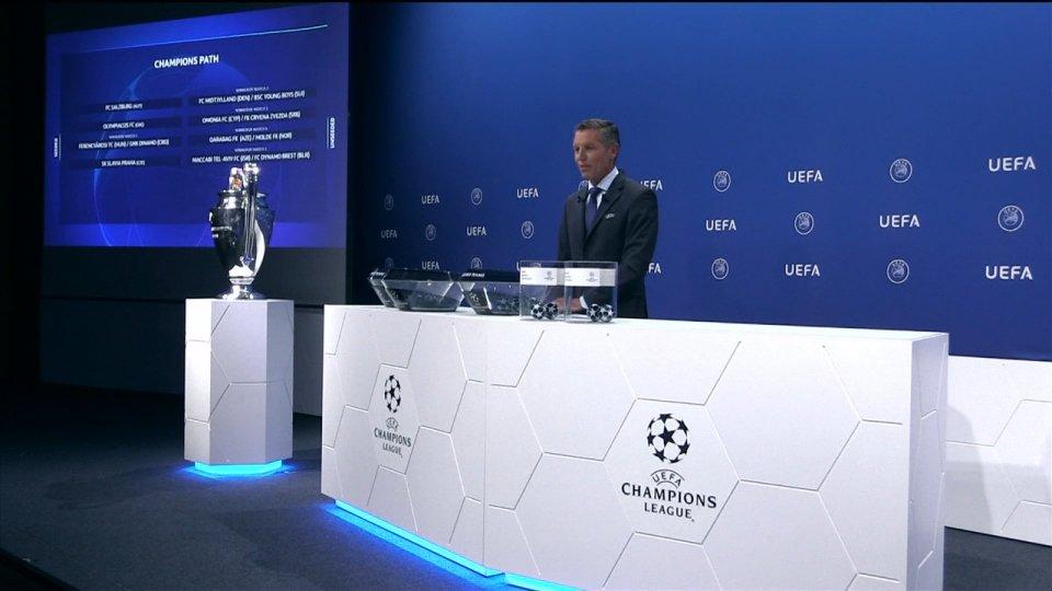 Sorteggiate a Nyon le dodici squadre che prenderanno parte ai playoff di Champions League 2020/2021