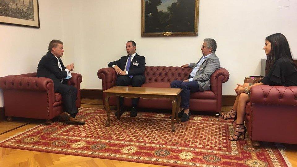 Il Segretario di Stato per il Lavoro ha incontrato a Roma il Segretario di Presidenza  della Camera dei Deputati Andrea De Maria