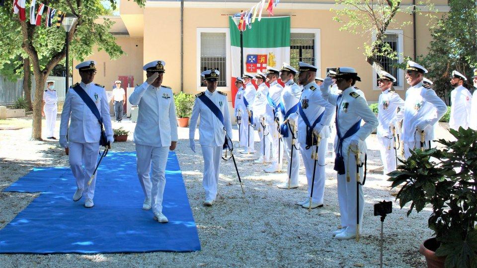 Passaggio di consegne del Capo del Compartimento Marittimo e  Comandante del Porto di Rimini