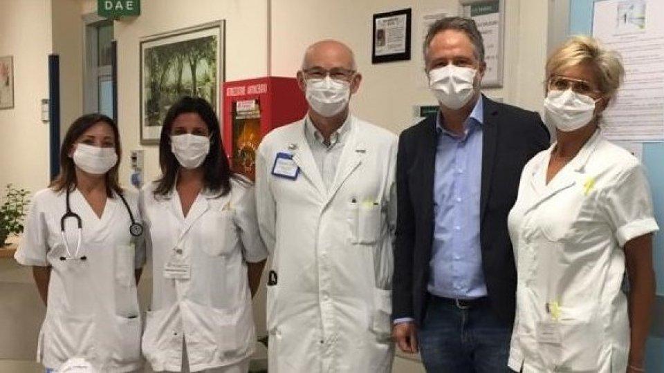 Valpharma Group dona 1.000 mascherine chirurgiche all'Ospedale di Novafeltria