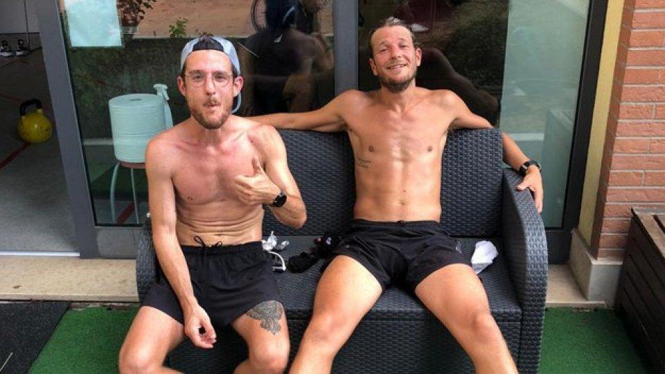 Rimini-Pennabilli: l'avventura si avvicina e il gruppo si allarga. 65 km a piedi e in bici