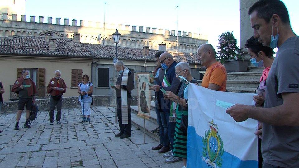 Da San Marino a Saludecio sul cammino dei Santi