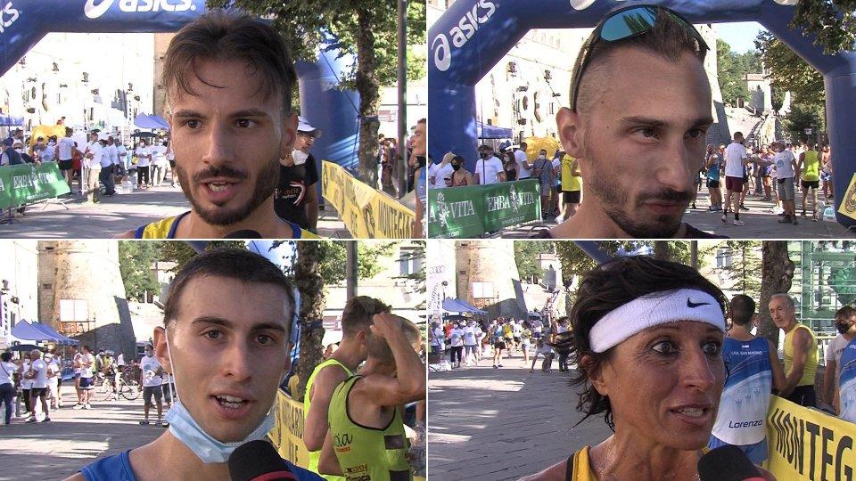 Le interviste ai protagonisti del Giro del Monte