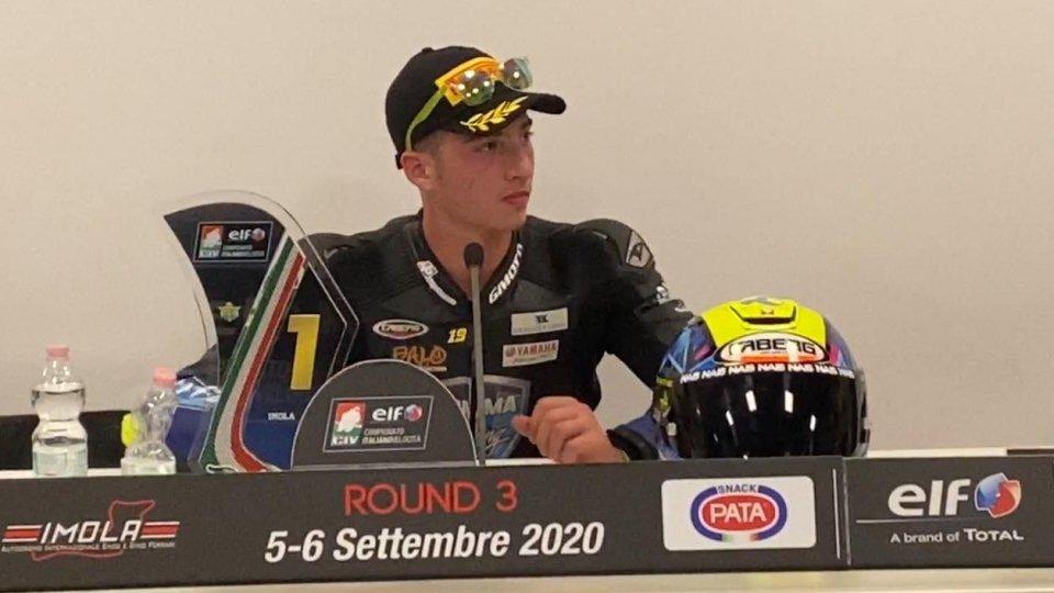 Luca Bernardi vince a Imola