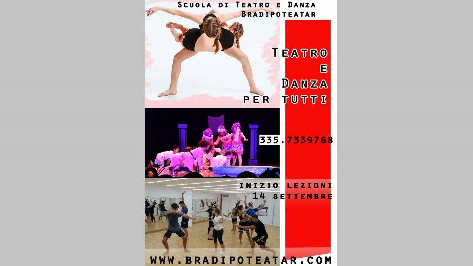 Al via i corsi della Scuola di Teatro e Danza Bradipoteatar