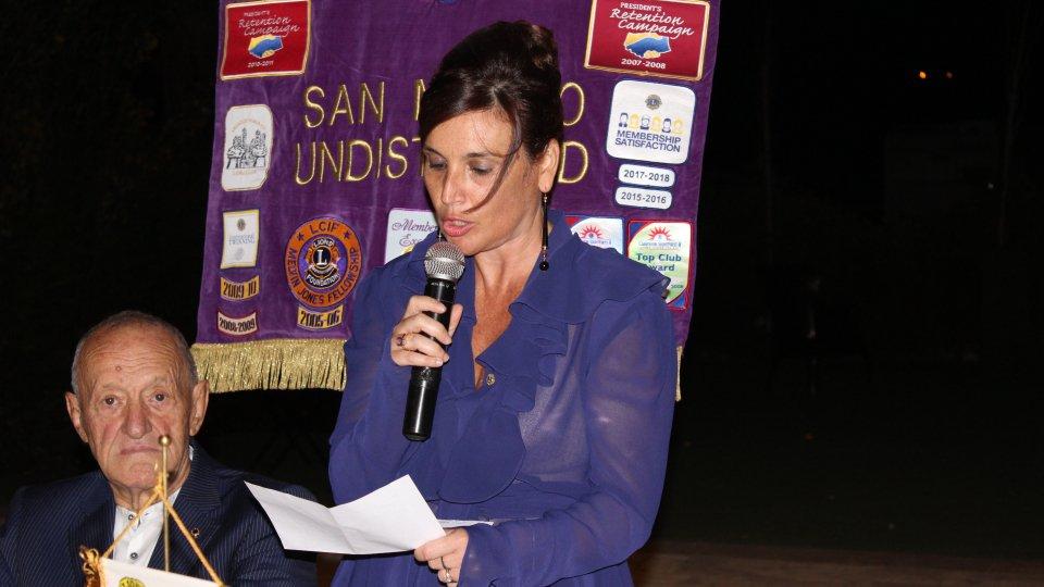 Charter Night del Lions Club San Marino Undistricted