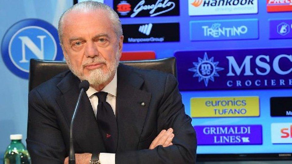 Serie A: de Laurentiis, è positivo al Covid 19. Ieri era all'assemblea della Lega