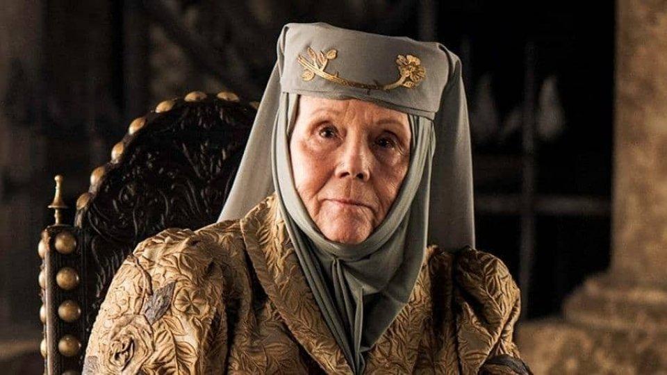 """Diana Rigg nella serie """"Il trono di spade"""""""
