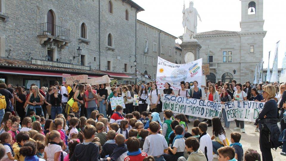 Fridays For Future San Marino, manifestazione settembre 2019 - Foto di Nicola Giancecchi