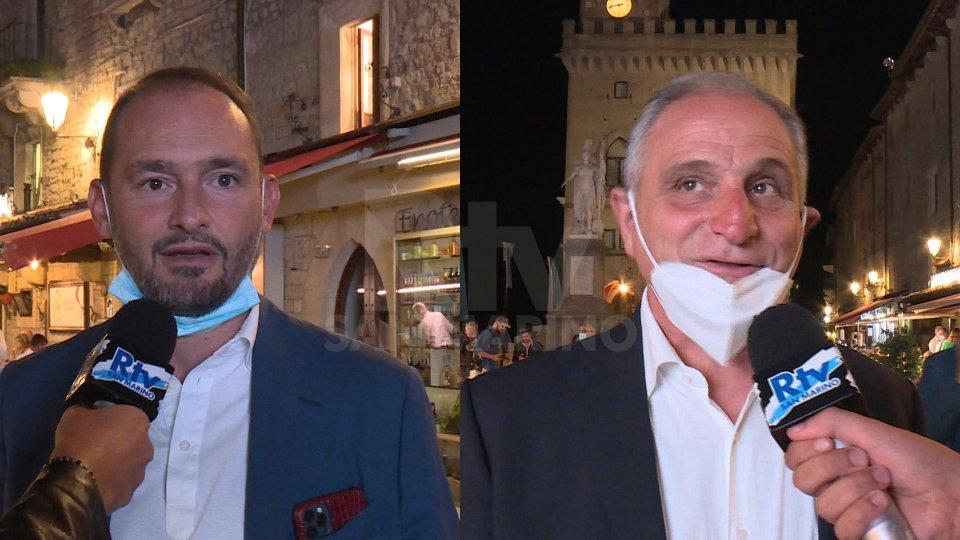 Gianluca Di Marzio e Marco Nosotti