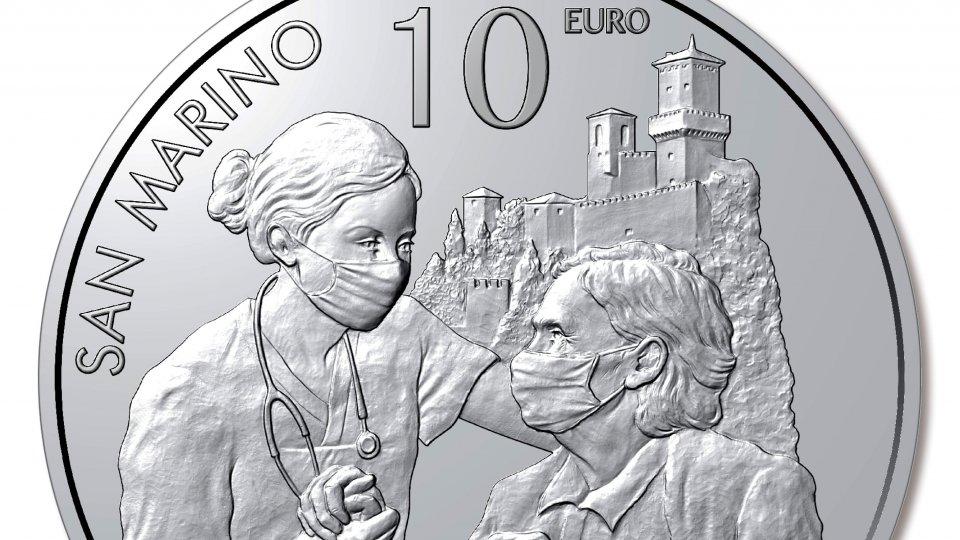 """Da giovedì in vendita la moneta """"Pro Iss"""" per rendere omaggio agli eroi del Covid"""