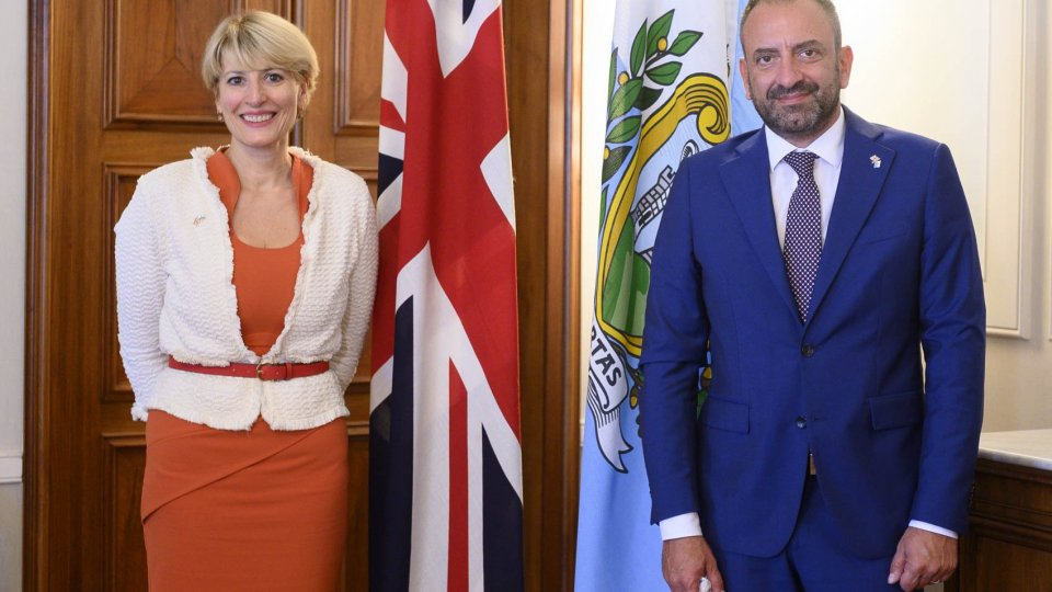 L'ambasciatore Uk Jill Morris a San Marino