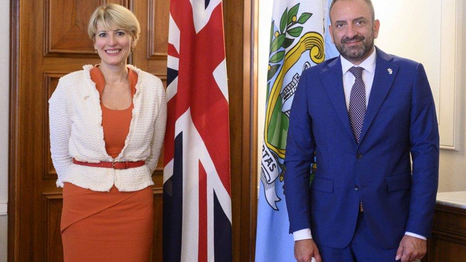 Segreteria Affari Esteri: Visita dell'Ambasciatore del Regno Unito e Irlanda del Nord, Jill Morris (intervista)